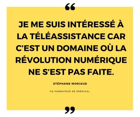 Stéphane Moriaud prédical