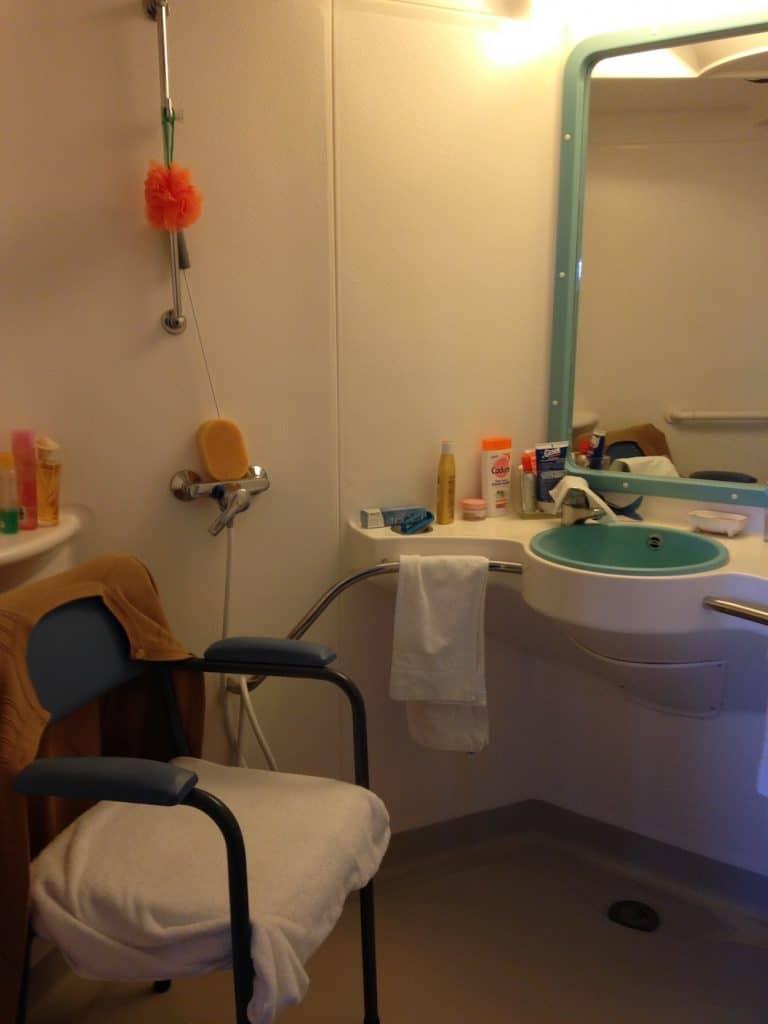 aïna salle de bains en ehpad