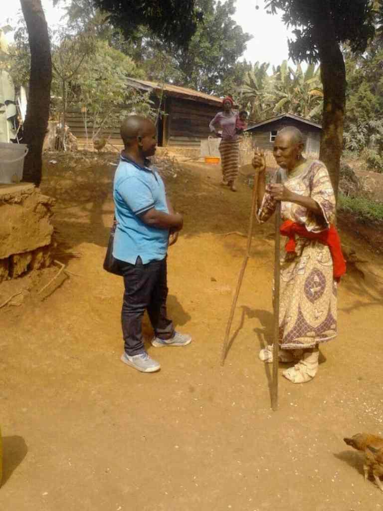 Zirirane, infirmier facilitateur de l'association Abes