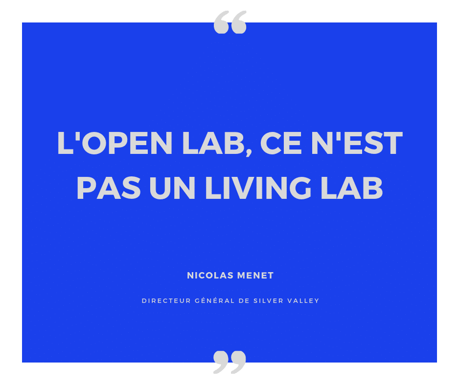 L'open Lab, ce n'est pas un Living Lab