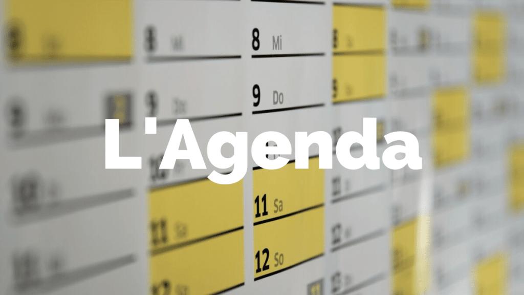 l'agenda des conférences de Alexandre Faure