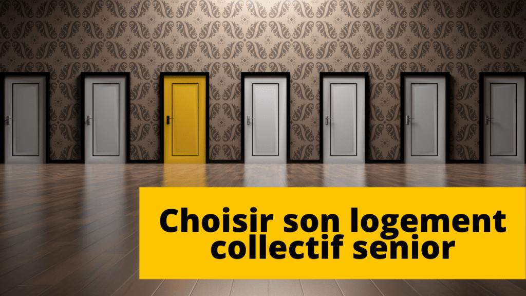 Comment choisir son logement collectif senior