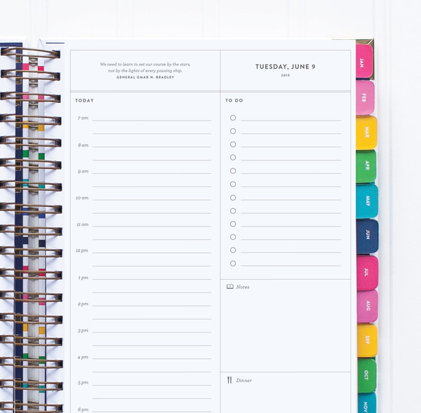 Emily Ley Simplified Planner - Daily Page
