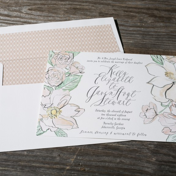 Modern_Floral_Wedding_Invitation_San_Diego
