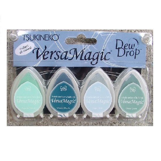 Versamagic Dew Drop Ink Pads: Seashore