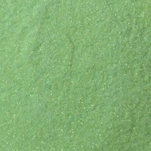 Sweet Poppy Stencil: Satin Glitters Light Green