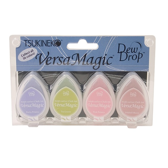 Versamagic Dew Drop Ink Pads: Flower Pot