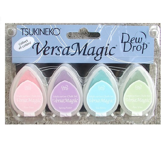 Versamagic Dew Drop Ink Pads: Pretty Pastel