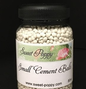 Sweet Poppy Stencils: Cement Balls Small