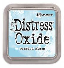Distressed Oxide: Tumbled Glass