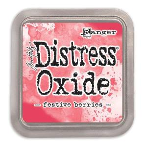 Distressed Oxide: Festive Berries