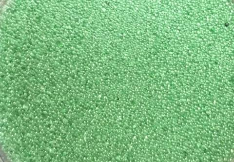 Sweet Poppy Ultra Fine Glass Microbeads: Dark Green