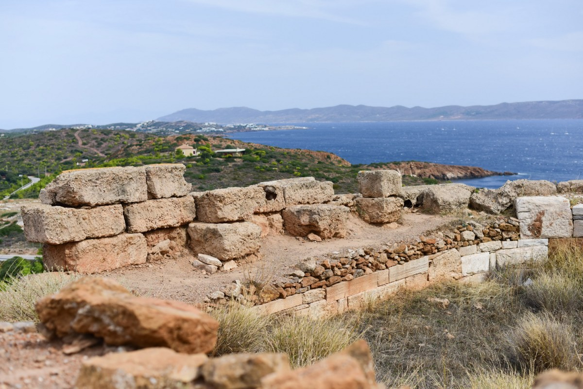 The ruins at Cape Sounion