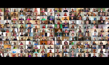 How over 200 voices sang as one virtual choir