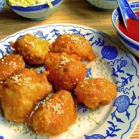Kurczak w cieście sezamowym / Chicken in sesame crust