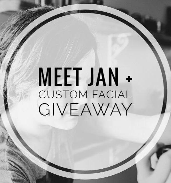 Meet Jan + giveaway