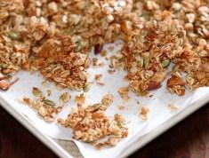 simple-honey-almond-coconut-granola-cooked