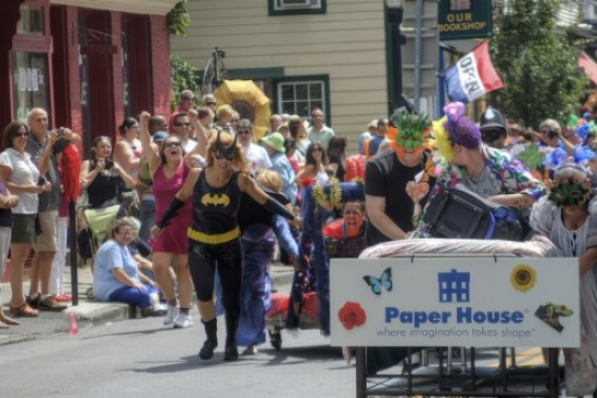 Happiness Equals a Bed Race and Scrumptious Cookies - Sweet and Savoring [photo by Andy Milford]