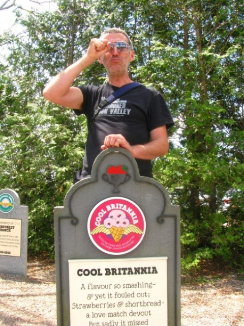 Touring the Ben & Jerry's Ice Cream Factory - Sweet and Savoring