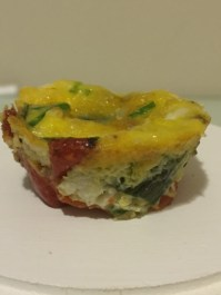 Vegetable Frittata Bites