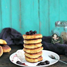 Mini Russian Pancakes