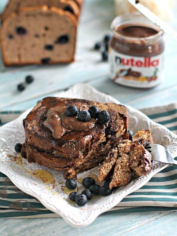 Chocolate Blueberry Bread