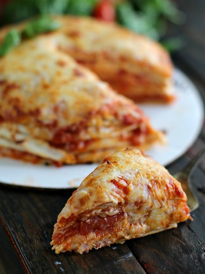 Best Tortilla Pizza