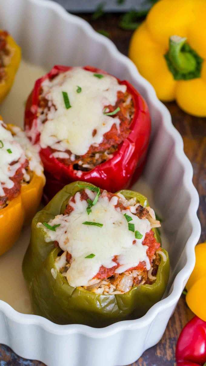 Best Instant Pot Stuffed Peppers Recipe