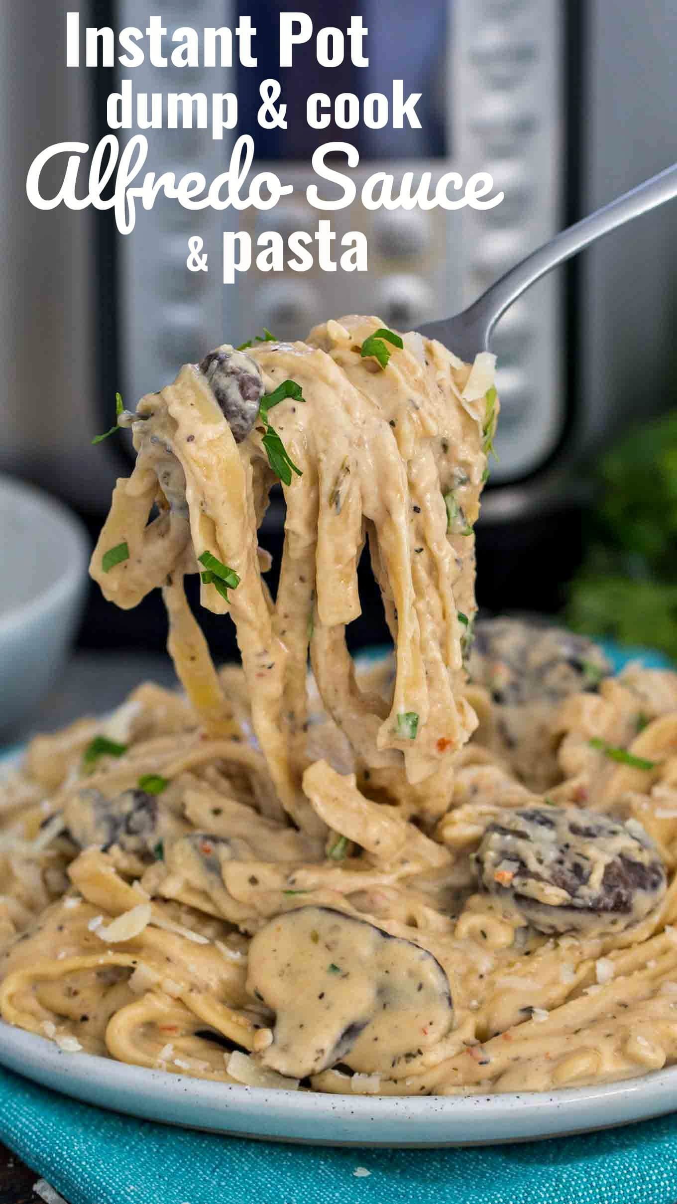 The Best Instant Pot Alfredo Sauce Fettuccine