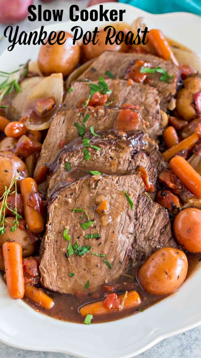 Slow Cooker Yankee Pot Roast Video Sweet And Savory Meals