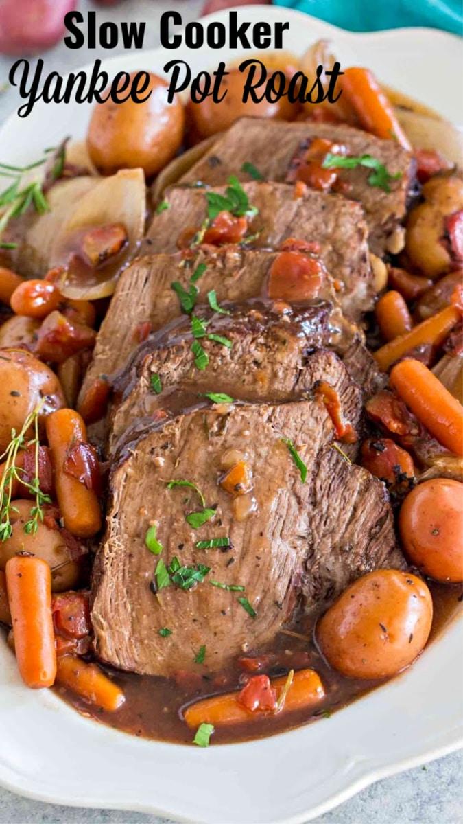 Slow Cooker Yankee Pot Roast Recipe