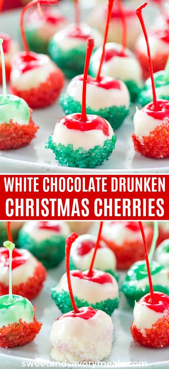 Christmas Drunken Cherries