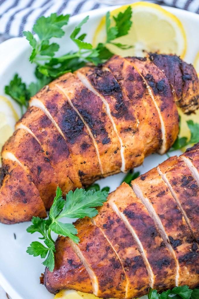 Easy Blackened Chicken Breasts