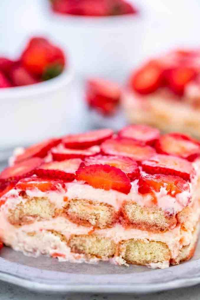 Strawberry Tiramisu Recipe  - Sweet and Savory Meals