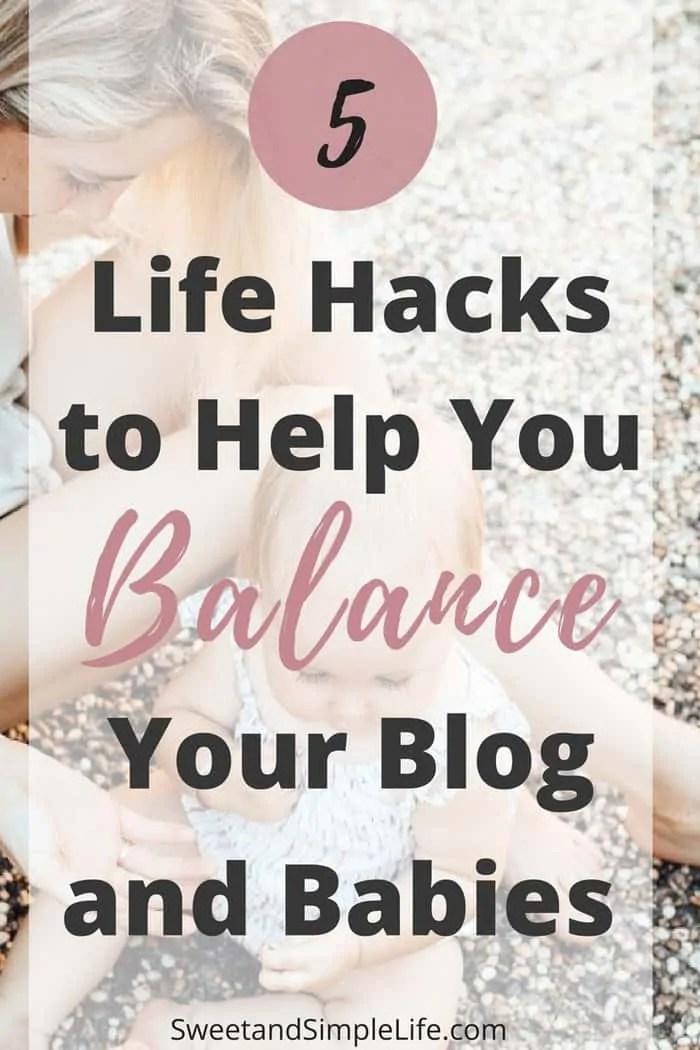 balance blog and babies