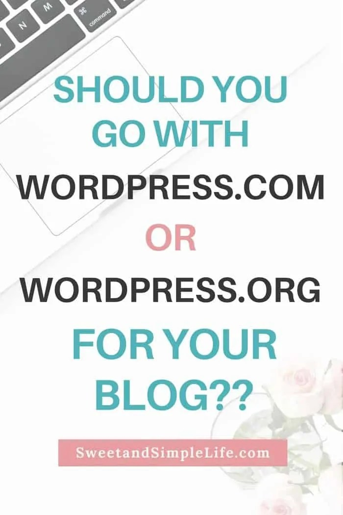 The difference between WordPress.com and WordPress.org: which one is right for your blog?