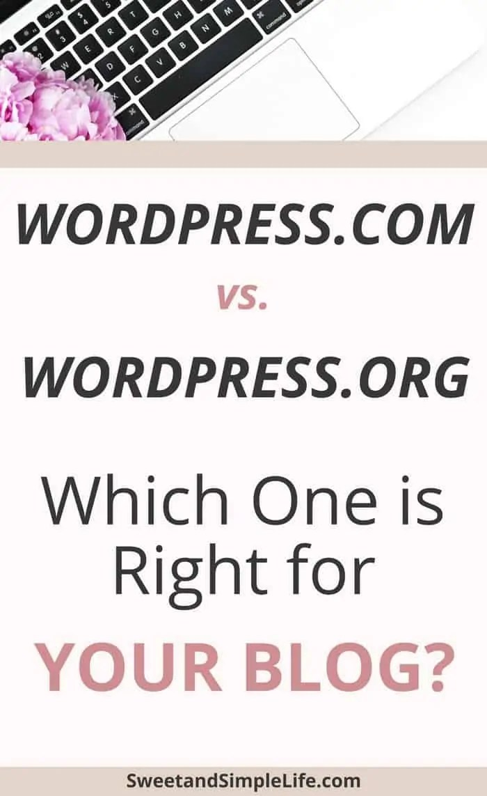 wordpress.com vs. wordpress.org, which one is better for your blog?