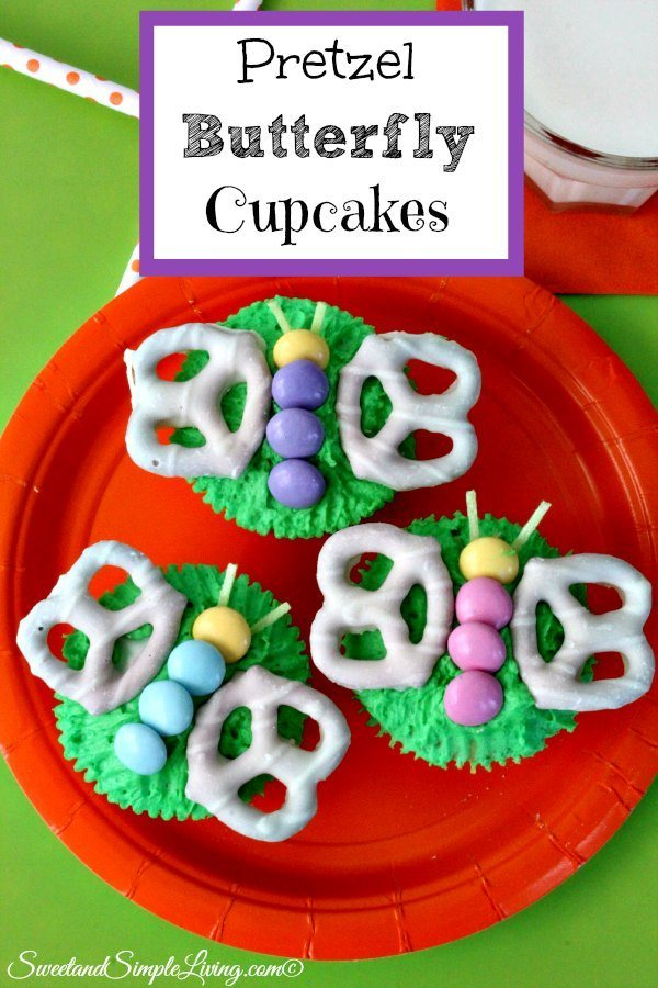 Easter Baking Cupcakes