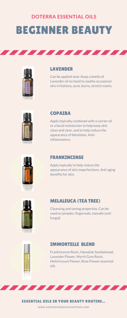 Essential Oils for Beauty Pinterest Pin