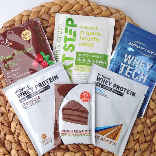 Vitamin Shoppe Protein Samples