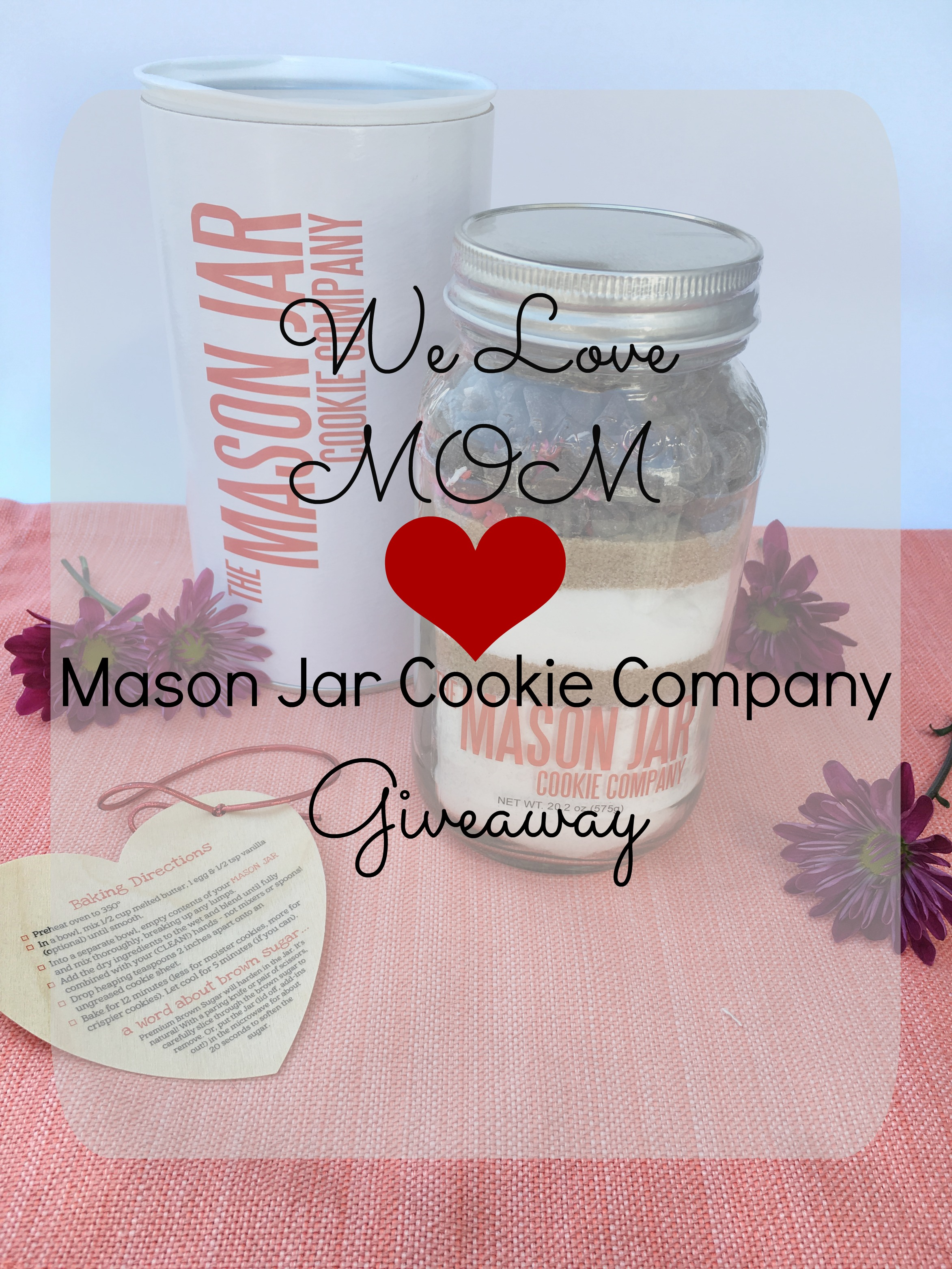 Mason Jar Cookie Company Giveaway