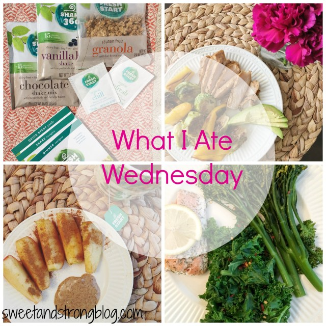 What I Ate Wednesday 72716
