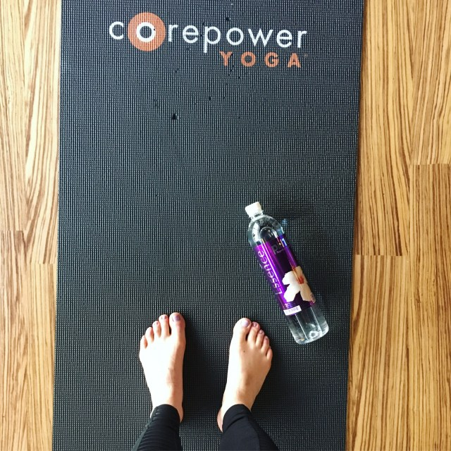 Corepower Yoga and Essence pH10 Water