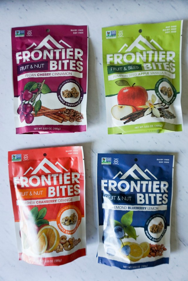 Frontier Bites Giveaway. Snack Right.