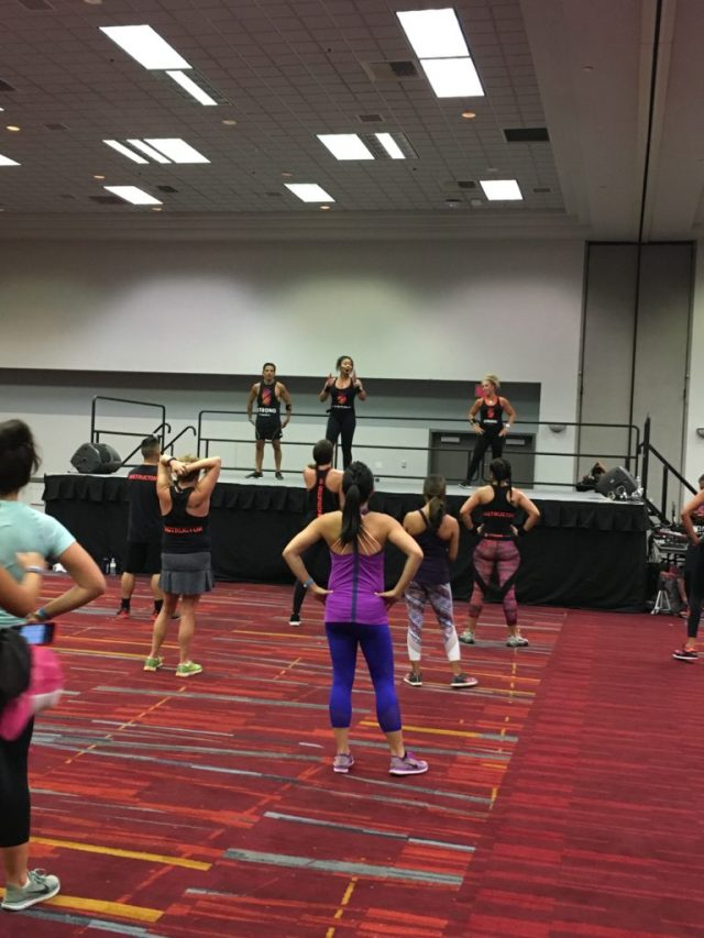 IDEA World Blogfest, Strong By Zumba Workout