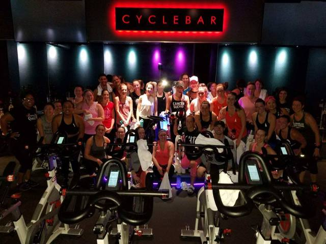 CycleBar Sweat Pink DMV