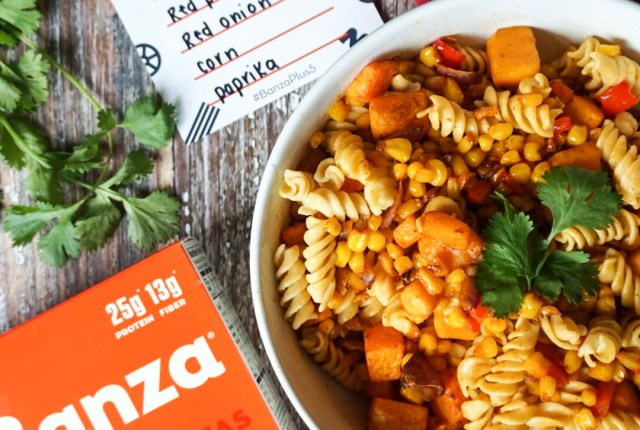 Banza Pasta Plus 5 Roasted Butternut Squash Pasta Salad Recipe