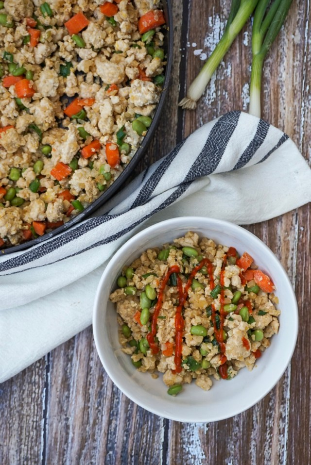 Meal Prep fried cauliflower rice recipe