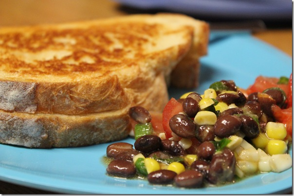 Southwestern Black Bean and Corn Salad (2/2)