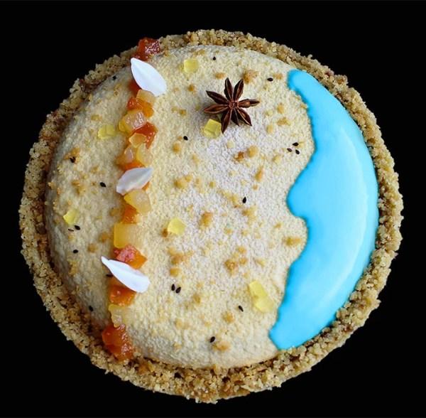 Pear and papaya cake recipe